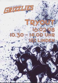 Hannover Grizzlies: Try Out
