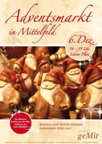 Adventsmarkt in Mittelfeld