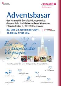 Adventsbasar des Annastifts