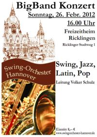 Konzert des Swing-Orchesters Hannover
