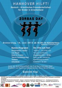 ZORBAS� DAY - Hannover hilft!