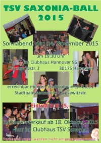Saxonia-Ball 2015