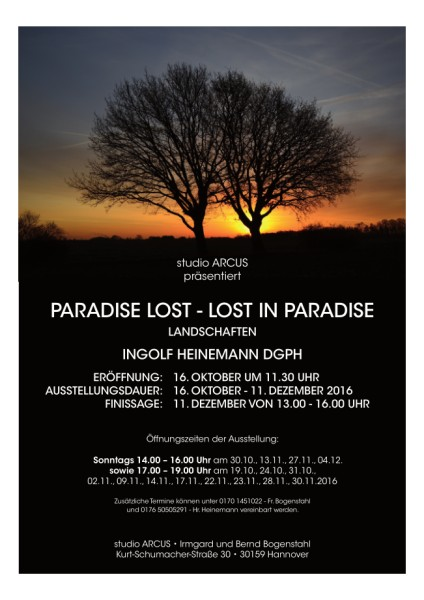 paradise lost - lost in paradise