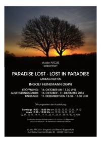 Ingolf Heinemann: paradise lost - lost in paradise