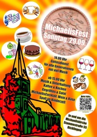 MichaelisFest am Sonntag, 29. September 2019